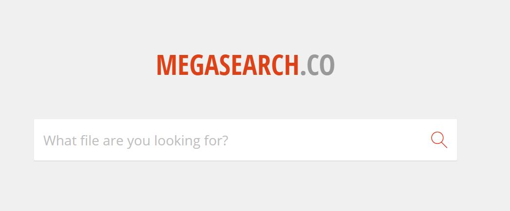 buscadores de arquivos megasearch
