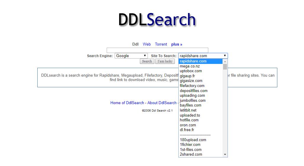 buscadores de arquivos ddlsearch